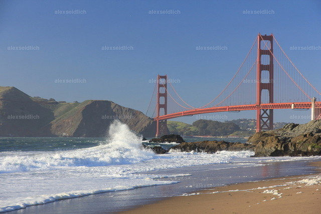 Golden Gate Bridge_ from Baker Beach