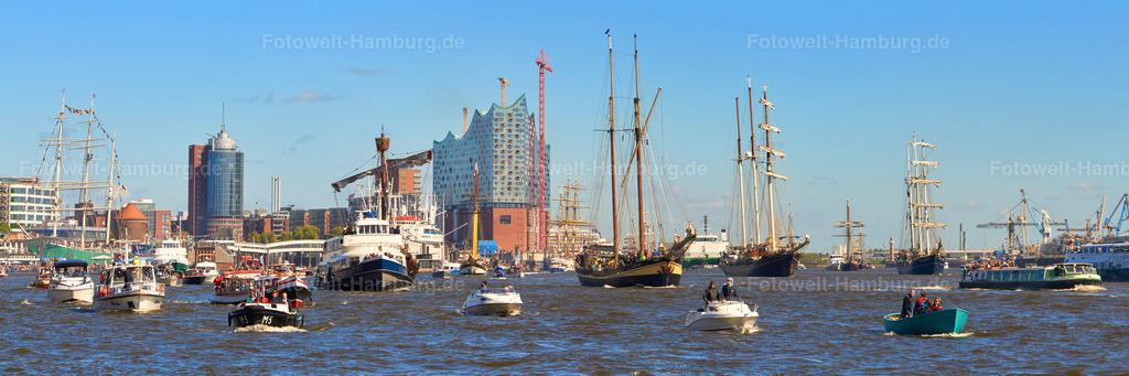 11497808 - Hafengeburtstag 2015 Auslaufparade
