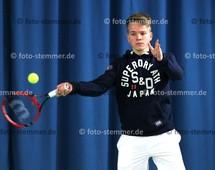 Foto: Michael Stemmer | © Michael Stemmer Tennis Datum: 20.2.2016 Jannek Schönfeld  (TV Uetersen)