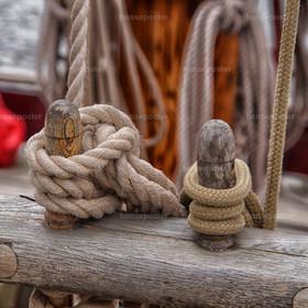 Tampen Festmacher Holz