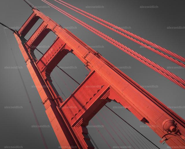 Golden Gate Bridge Sky Pillar