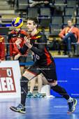 2016_113_OlympiaQualiSerbien-Belgien | Aufschlag VALKIERS Matthias (#16 Belgien)