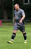 Foto: Michael Stemmer | © Michael Stemmer Datum: 17.7.2016 Fußball, Testspiel SVHR gegen Raspo Uetersen Fabian Buller  (Raspo Uetersen)
