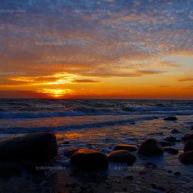 Sonnenaufgang über Fehmarn