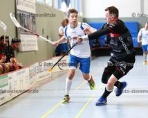Foto: Michael Stemmer | © Michael Stemmer Floorball Datum: 7.10.2017 BW 96 gegen MFBC Leipzig Marius Schwartz   (BW 96)