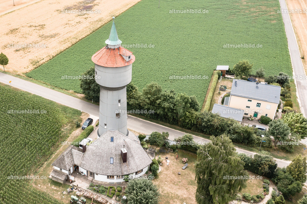 Wasserturm | Historischer Wasserturm bei Schernfeld