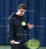 Foto: Michael Stemmer | © Michael Stemmer Tennis Datum: 20.2.2016 Niklas Siggelkow  (TV Uetersen)