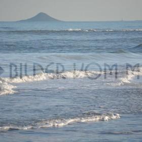 Bilder vom Meer | unruhige Wasser am Mar Menor