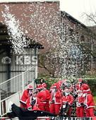 KBS Picture_Altona93-BU_02 | Altona 93 Fans als Weihnachtsmaenner mit Konfetti , Oberliga Hamburg  19. Spieltag   2016 / 2017 , Altona 93  vs.  Barmbek-Uhlenhorst , Sportplatz : Adolf-Jaeger-Kampfbahn , Copyright by © KBS-Picture ,   Postfach 1310 ,   25454 Rellingen ,       Mobil  0172 – 977 49 83 ,    Mail:  foto@kbs-picture.de , Verwendung für Werbezwecke und Weitergabe an Dritte untersagt.   KBS Picture kann keine Schadenersatzforderungen übernehmen,  die aus der Veröffentlichung dieses Bildes entstehen könnten.   Der Abdruck dieses Bildes ist honorarpflichtig. Fotohonorar + 19% Mwst. , Fotofreigabe auch für Onlinezwecke , Meincke Kalle ,   KBS-Picture