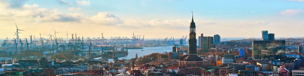 11960885 - Michel und Hamburger Hafen