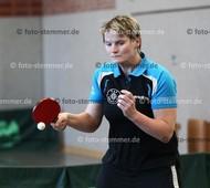 Foto: Michael Stemmer | © Michael Stemmer Tischtennis, Verbandsoberliga Nord, Frauen Datum: 27.11.2016 Christina Nieschalk   (TuS Esingen)
