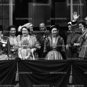 England, Kšnigin Elizabeth II., Prinz Charles, FŸrst von Wales, Herzogin von Gloucester, Kšnigin-Mutter Elizabeth, Prinzessin Anne, Herzog von Gloucester, Prinzessin Margaret, Prinzessin Alexandra und Herzogin von Kent, Prinz Philip, Herzog von Edinburgh,