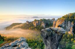 Morgens am Wehlgrund | Momente wie dieser bleiben einfach unvergesslich - ein Herbstmorgen am Wehlgrund