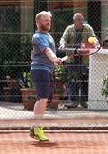 Foto: Michael Stemmer | © Michael Stemmer Tennis-Herren (Oberliga) Datum: 21.5.2016 Sascha Schümann  (SV Halstenbek-Rellingen, SVHR)