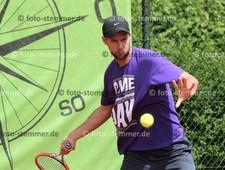 Foto: Michael Stemmer | © Michael Stemmer Tennis-Herren (Oberliga) Datum: 21.5.2016 Alexander Roggenkamp  (SV Halstenbek-Rellingen, SVHR)