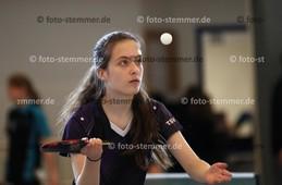 Foto: Michael Stemmer | © Michael Stemmer Tischtennis Kreismeisterschaften Schüler A/Jugend  Datum: 15.10.2017 Viktoria Perner  (TSV Heist)