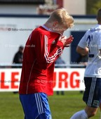 Foto: Michael Stemmer | © Michael Stemmer Datum: 17.4.2017 Fußball, Verbandspokal Viertelfinale 16/17 SVHR gegen TuS Dassendorf Yannick Sottorf  (SVHR)