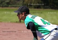 Foto: Michael Stemmer | © Michael Stemmer Baseball, Verbandsliga  Datum: 30.4.2017 Spiel: Elmshorn Alligators – Flensburg Baltics Malte Grünewald   (Elmshorn Alligators)