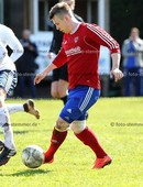 Foto: Michael Stemmer | © Michael Stemmer Datum: 17.4.2017 Fußball, Verbandspokal Viertelfinale 16/17 SVHR gegen TuS Dassendorf Niklas Siebert  (SVHR)