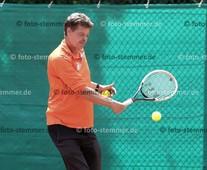Foto: Michael Stemmer | © Michael Stemmer Tennis, Männer50, Nordliga Datum: 11.6.2016 Frank Schröder   (SuS Waldenau)