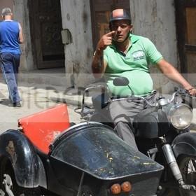 Beisitzer-Taxi sucht Kunden | Kuba Bilder vom Meer