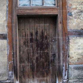 die alte Tür HDR
