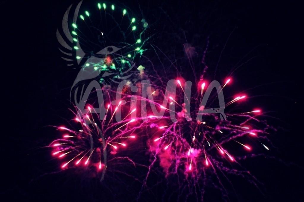 Feuerwerk_25 wuma2018   Leuchtender Himmel beim Feuerwerk des Dürkheimer Wurstmarkt 2018