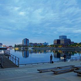 am Morgen in Kiel