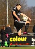 Foto: Michael Stemmer | © Michael Stemmer Fußball Bezirksliga West- Saison 2015- 2016 Datum: 28.2.2016 Spiel: FC Union Tornesch –  Seestermüher Marsch  Philipp Junke (TSV Seestermüher Marsch)