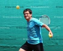 Foto: Michael Stemmer | © Michael Stemmer Tennis, Männer50, Nordliga Datum: 11.6.2016 Dirk Sobbe   (SuS Waldenau)