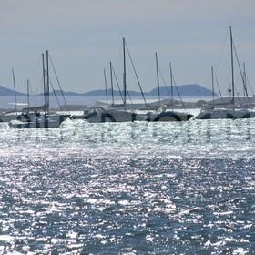 Bilder vom Meer als Wandbild Meer | Meer Bilder: Hafen von San Pedro del Pinatar als Wandbild Meer kaufen