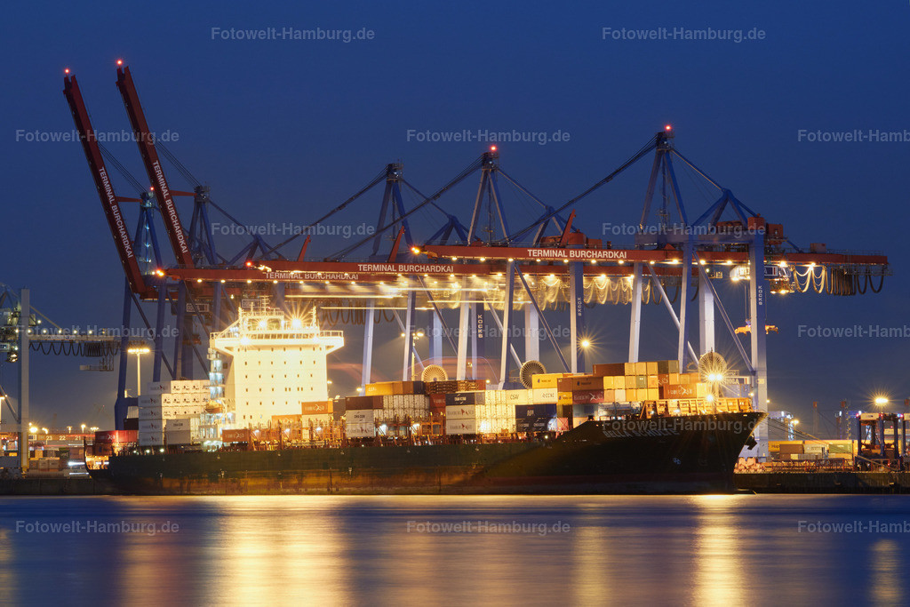 11815310 - Containerschiff im Terminal Burchardkai