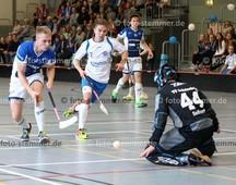 Foto: Michael Stemmer | © Michael Stemmer Datum: 23.9.2017 Floorball (BW 96 gegen Schriersheim) Marius Schwartz   (BW 96)