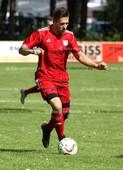 Foto: Michael Stemmer | © Michael Stemmer Fußball Bezirksliga West- Saison 2017- 2018 Datum: 30.7.2017 Spiel: SSV Rantzau- (rot) gegen SV Nienstedten  Nico Breuel   (SSV Rantzau)