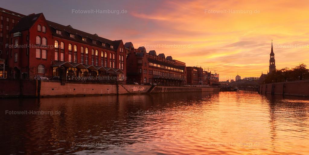 12009658 - Sonnenuntergang in der Speicherstadt