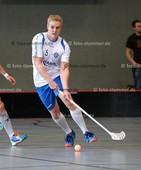 Foto: Michael Stemmer | © Michael Stemmer Datum: 23.9.2017 Floorball (BW 96 gegen Schriersheim) Christopher Petermann   (BW 96)