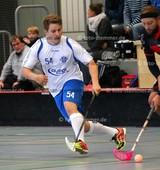 Foto: Michael Stemmer | © Michael Stemmer Floorball Datum: 7.10.2017 BW 96 gegen MFBC Leipzig Hauke Dentzin   (BW 96)