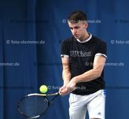 Foto: Michael Stemmer | © Michael Stemmer Tennis Datum: 20.2.2016 Moritz Seemann  (LTC Elmshorn)