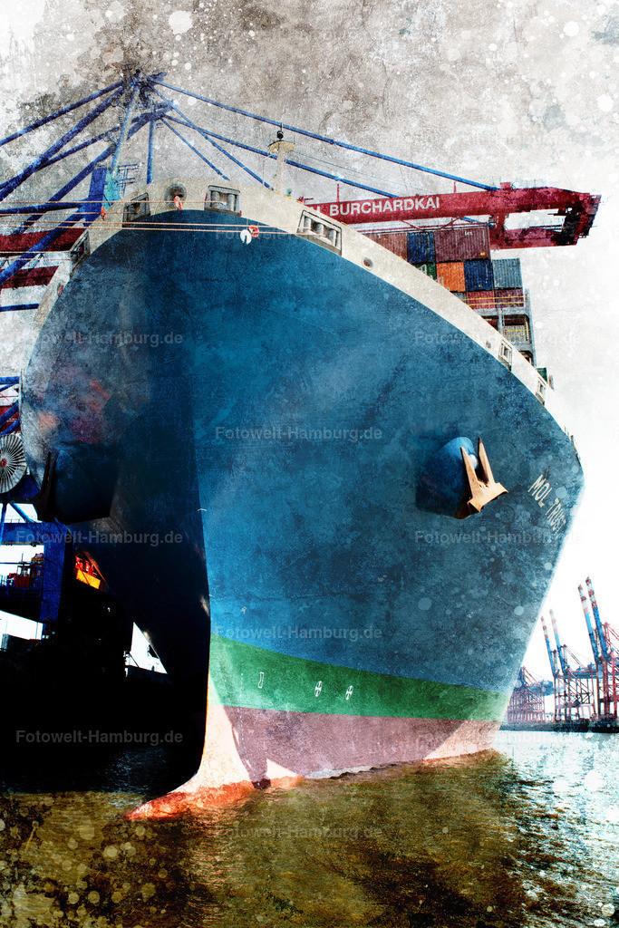 12005868 - Containerschiff am Burchardkai II