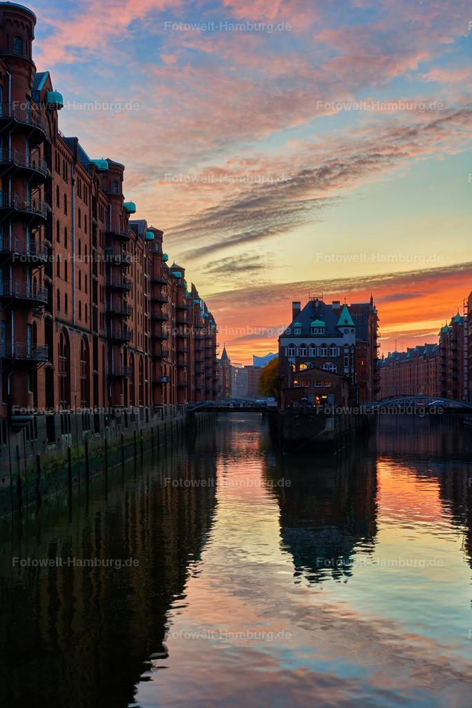 12014701 - Sonnenuntergang am Wasserschloss