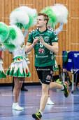 2016_011_BLM_Netzhoppers-Friedrichshafen | Peter Itzigehl (Netzhoppers #5) bei der Teamvorstellung