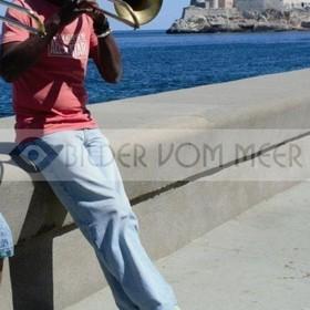 Trompeter in Havanna | Kuba Bilder vom Meer