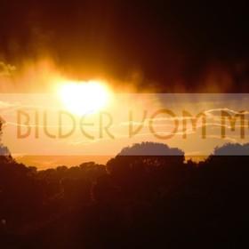 Bilder Sonnenuntergang | Das Licht entweicht