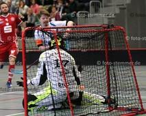 Foto: Michael Stemmer | © Michael Stemmer Floorball, Pokal, 4. Runde , Männer Datum: 10.12.2017 Blau-Weiß 96 Schenefeld – UHC Sparkasse Weißenfels  Lasse Schmidt   (BW 96)