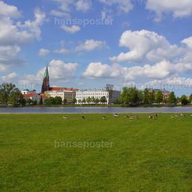 Panorama Schloß Schwerin