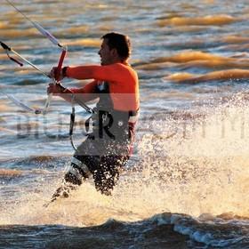 Kitesurfen Bilder | Kite Surferim Mar Menor, Spanien
