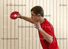 Foto: Michael Stemmer | © Michael Stemmer Tischtennis Kreismeisterschaften Schüler A/Jugend   Datum: 15.10.2017 Michel Grabe  (TSV Heist)