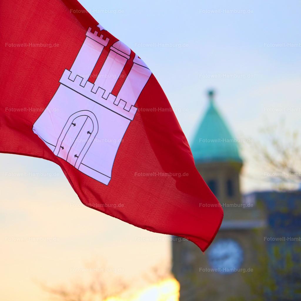 11498775 - Flagge an den Landungsbruecken