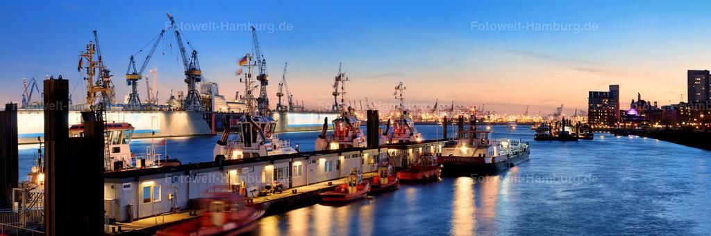 11739528 - Abendstimmung im Hamburger Hafen