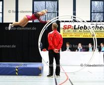 Foto: Michael Stemmer | © Michael Stemmer Leichatlethik, Rhönrad Datum: 19.3.2016 Veranstaltung: 1. WM-Qualifikation Yana Looft  (SV Rugenbergen)